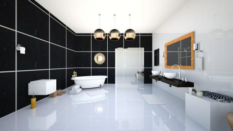 simple bathroom - Bathroom - by angelawloch