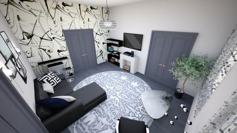 123 - Modern - Living room - by BoVica