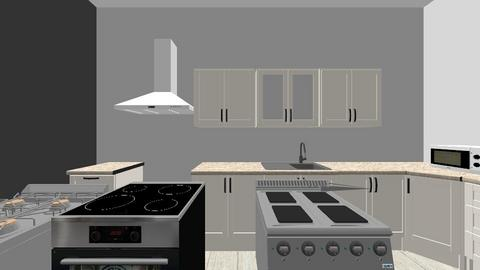 Proyecto Dto Cocina - Kitchen - by Marie_deco_design