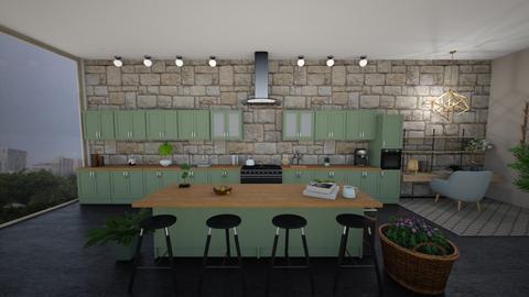 Plant Mom Kitchen - Global - Kitchen - by stokeshannah