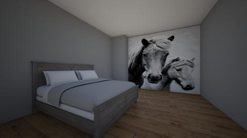 horse lover room - Bedroom - by jarno121