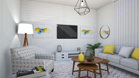 1182 1 - Living room - by Riki Bahar Elbaz
