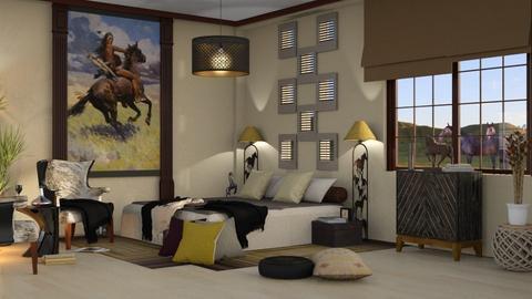 Horselover Bedroom - by ZsuzsannaCs