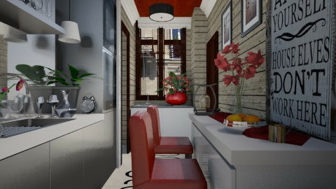 Paris Kitchen - Modern - Kitchen - by Yavanna