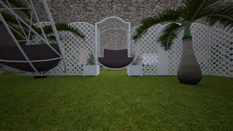 Foret de palmiers jardin - Garden - by MisterVVV