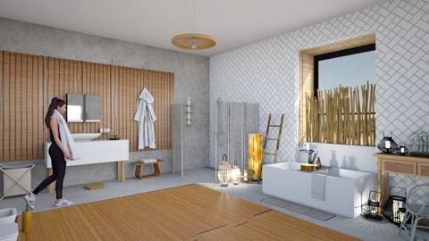 bamboo focus - Modern - Bathroom - by kitty