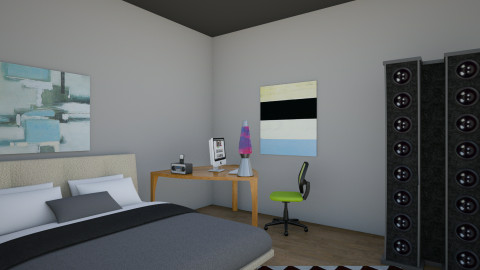 Just Testing - Bedroom - by Wesley Clark