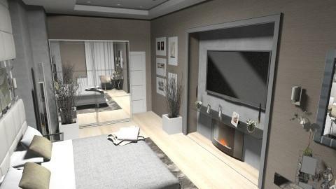 new bedroom4 - Modern - Bedroom - by Firuza Eva