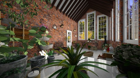 GREENHOUSE - Country - Living room - by Georgina Holly