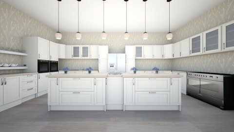 country kitchen - Country - Kitchen - by newyork4everloved