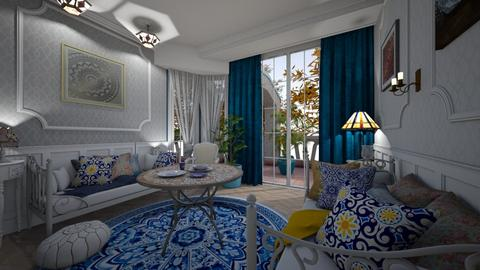 SHABBY - Classic - Living room - by Hanane Haidoune