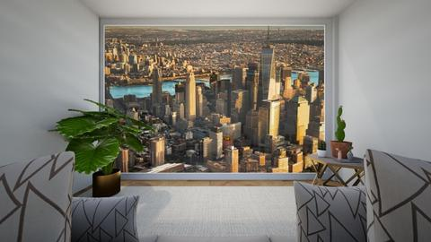 New York veiw - Living room - by ckjewell