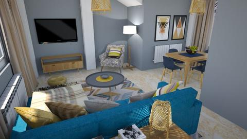 For Dhul - Living room - by chania