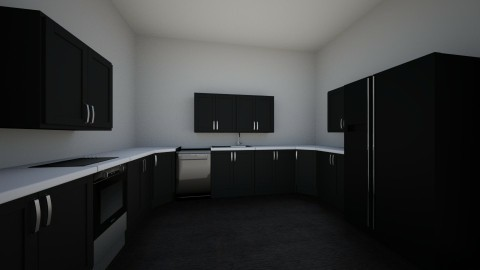 U Shaped kitchen - Modern - Kitchen - by alyssagray