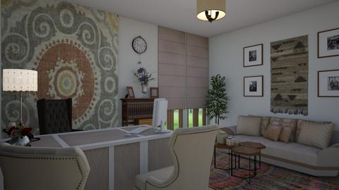 Boho Office - Office - by Veny Mully