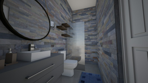 Bathroom 1 expanded v2 - Bathroom - by chloedaniella