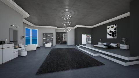 Sea bedroom  - Modern - Bedroom - by mariateresadrago