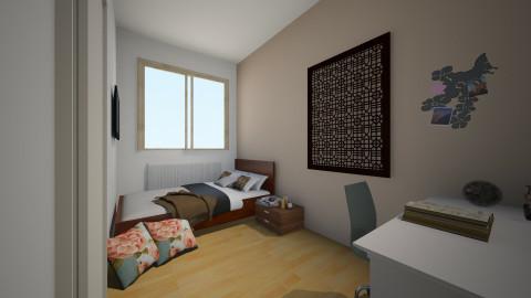 Kaylees room - Bedroom - by Tessa Feikens
