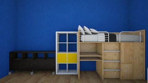 my bedroom - by Theodoros Frangeskou