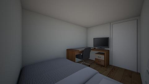 Sander - Bedroom - by FAGiraffe