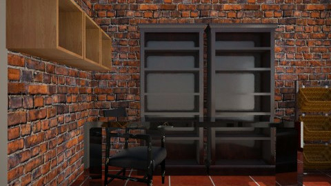 ko - Rustic - Office - by aka23