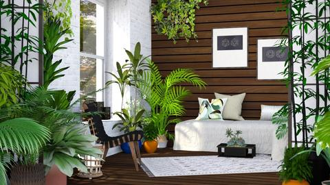 Urban Jungle - Living room - by millerfam