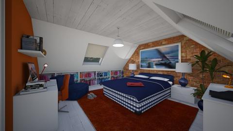 Garret - Eclectic - Bedroom - by Theadora