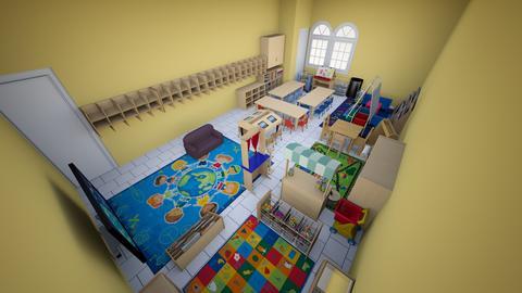 Montessori PreK Classroom - Kids room - by WTVBDMECMMRPQZBQKVLUGAEQPFGPLBA
