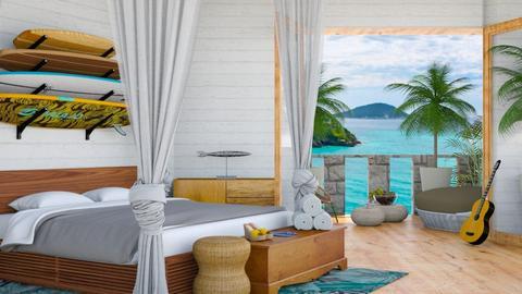 Nautical bedroom  - by Aymee Estrella