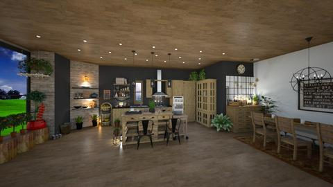IP Artisan Kitchen  - Kitchen - by Phoenix_shruti