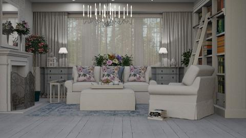 Shabby Chique - Eclectic - Living room - by Theadora