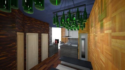 Hamburgueria 2 - Rustic - Kitchen - by Aleksadnr