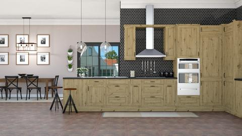 IP Artisan Kitchen - Kitchen - by lovedsign