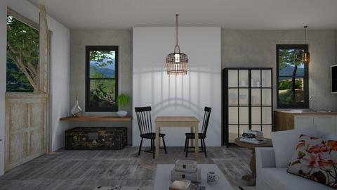 nuevo12345 - Minimal - Dining room - by Gabylez