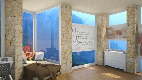 Bedroom for Teen - Bedroom - by Elena Heimark