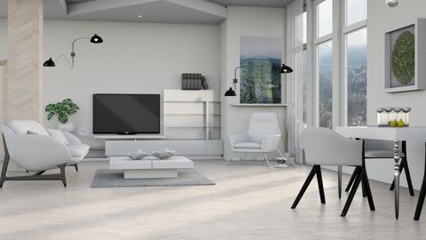 M_Aspen Chalet Template - Living room - by milyca8