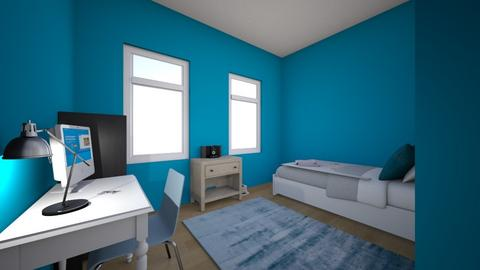 my room - Masculine - Bedroom - by Isaacarchitect