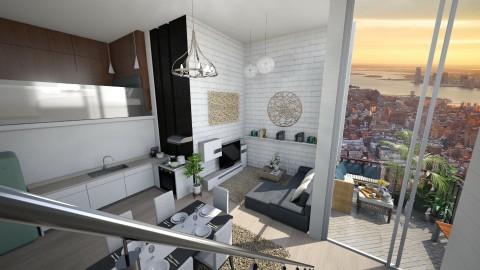 Apartment with Mezzanine - by ayudewi382