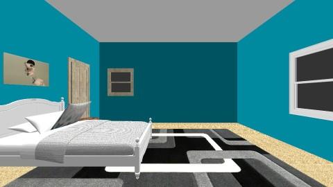 High School bedroom - Bedroom - by Heather Almond