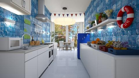 azzuro - Kitchen - by BortikZemec