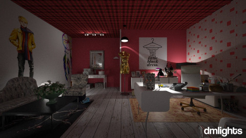 idea room - Office - by DMLights-user-1044826