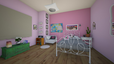 Cute little haven - Bedroom - by jadebeal
