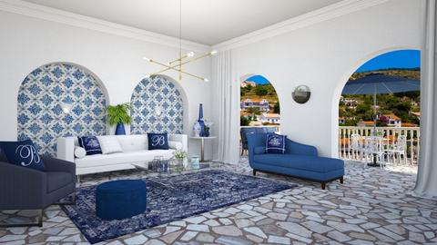 Greece - Living room - by lovedsign
