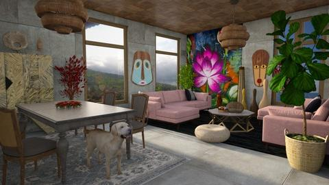 Template 2019 living room - Living room - by yulamalina