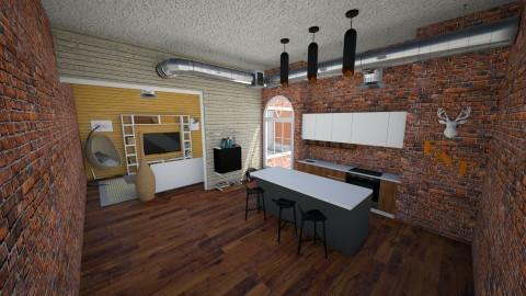 Studio Apartment - by Fuzzy Squirrel