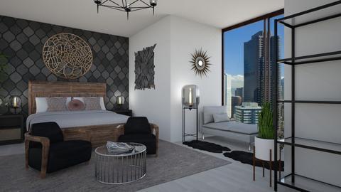 MidCentury Modern Retreat - Modern - Bedroom - by stokeshannah