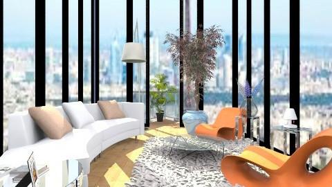 sala 5 - Retro - Living room - by Arquiteture