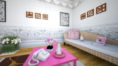 Sunday - Minimal - Living room - by Alixandria Wolff