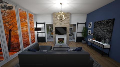 New York city living - Living room - by aheino16