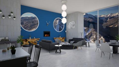 Dreamy Aspen Views - Modern - Living room - by stokeshannah
